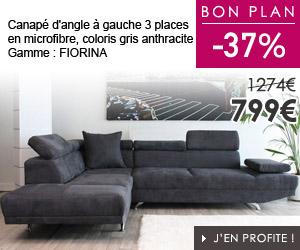 bon plan canap. Black Bedroom Furniture Sets. Home Design Ideas