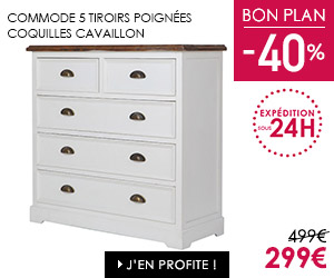 Bon plan commode