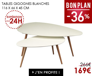 Bon plan table gigogne