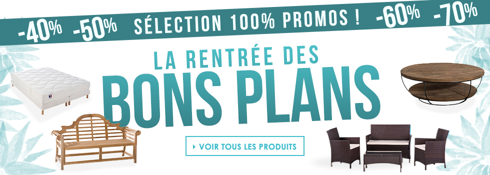 les bons plans de la rentree 2019