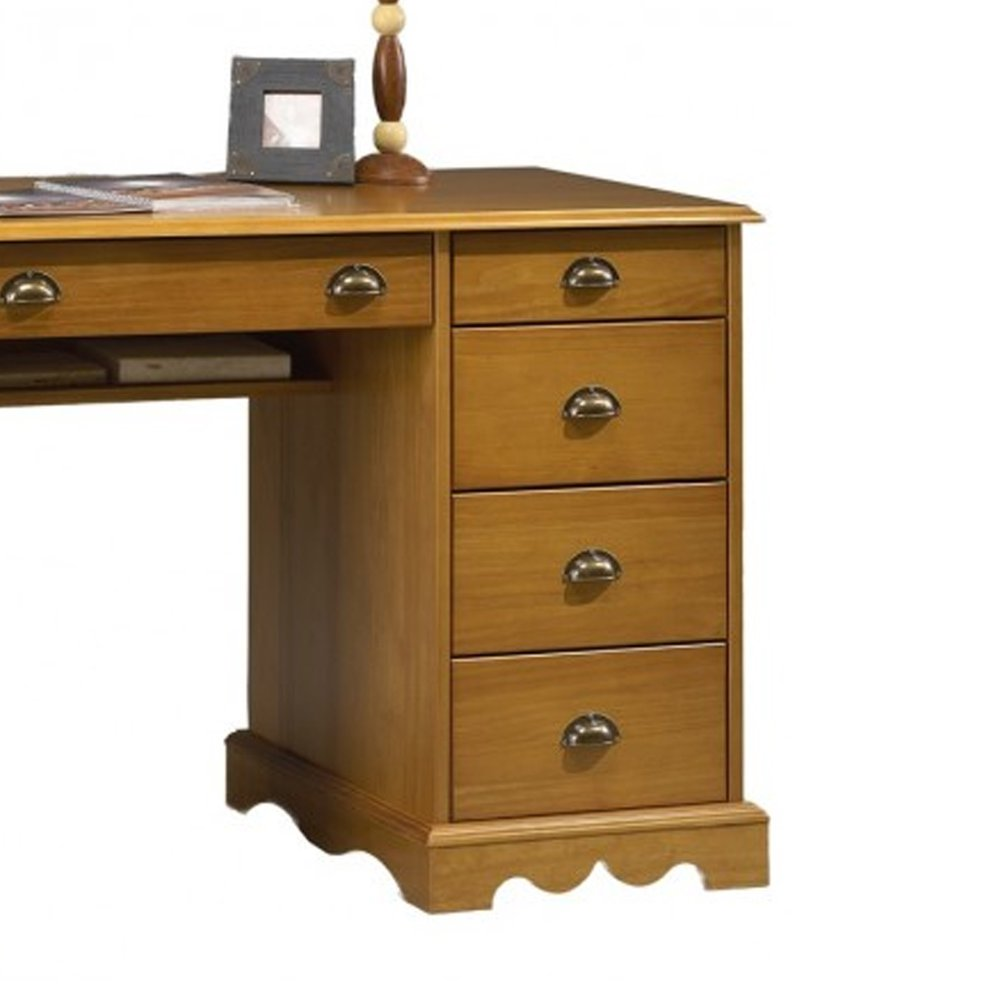 bureau ministre pin miel de style anglais  maison et styles