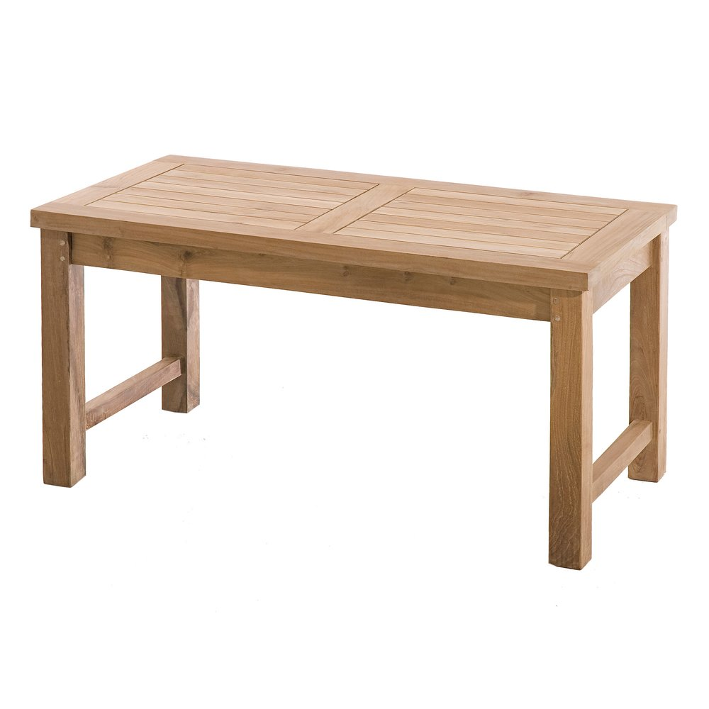 Meuble de jardin - Table basse de jardin en teck - GARDENA photo 1