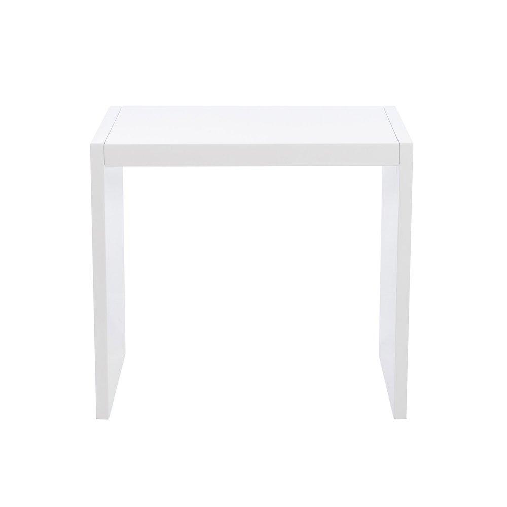 gigognes 60x40x55cm Set tables blanc 3 laqué de coloris dsxtrCQh