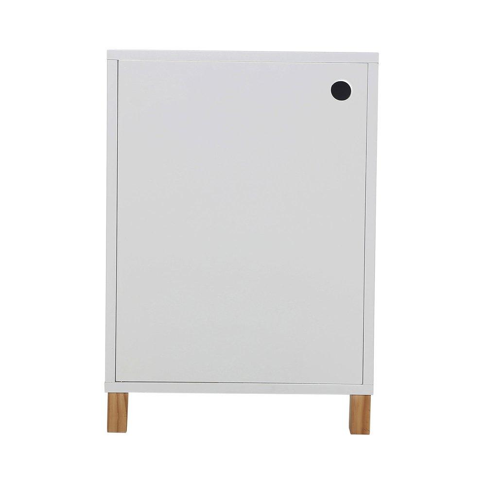 40x57x40 Styles cm blancMaison et porte Caisson 1 oerBdCx