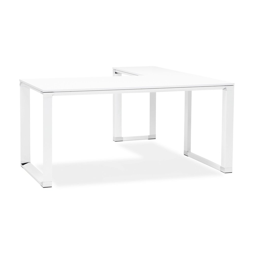Bureau - Bureau d'angle 170x160x74 cm blanc - WARNY photo 1