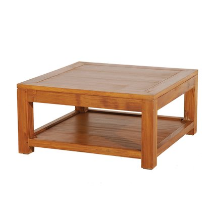 Table basse 80 80 1 tablette - Table basse tablette ...