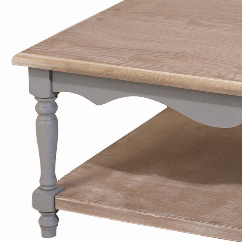 Table basse 1 tablette maison et styles for Table basse tablette