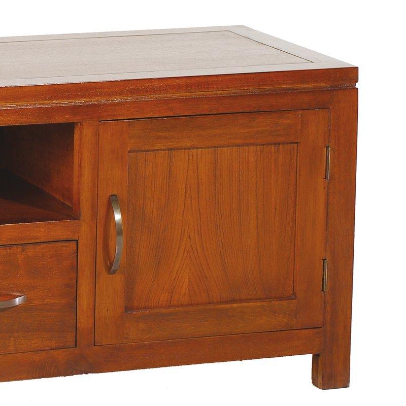 meuble tv 3 tiroirs bas maison et styles. Black Bedroom Furniture Sets. Home Design Ideas