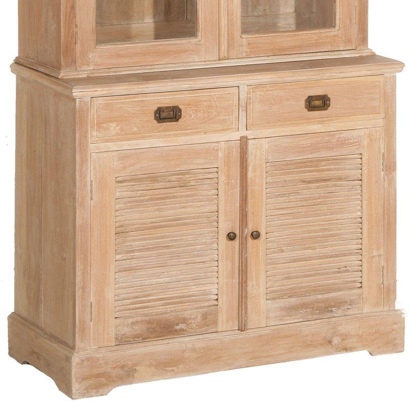 Bahut vaisselier 2 portes maison et styles for Bahut vaisselier