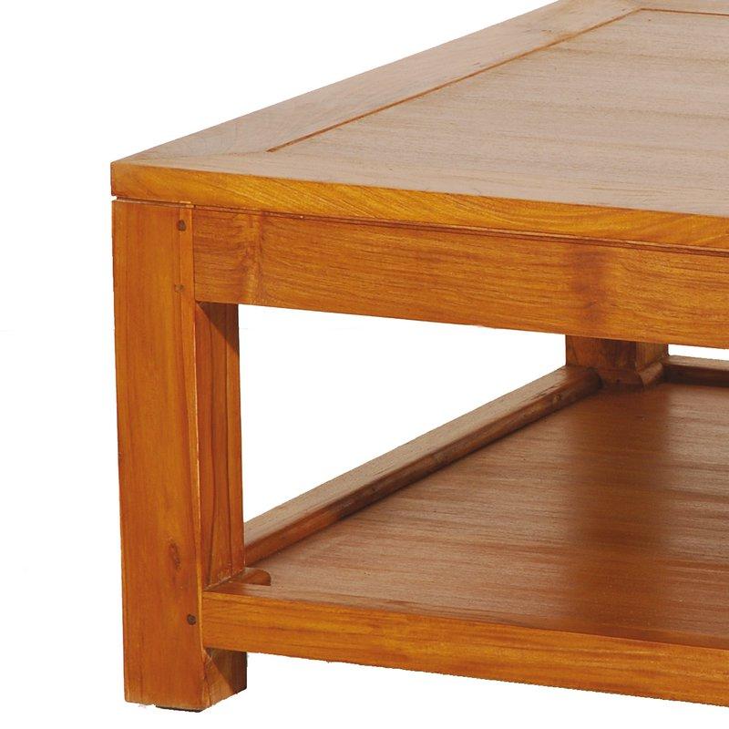 Table basse 80 80 1 tablette maison et styles - Table basse tablette ...