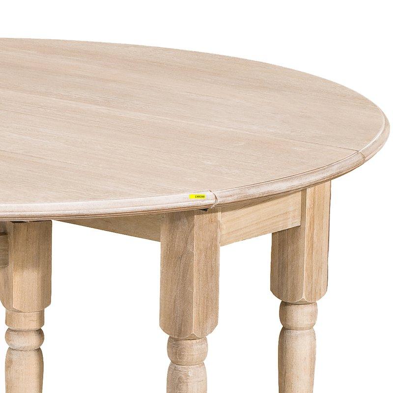 Table ronde pliante maison et styles - Maison pliante ...