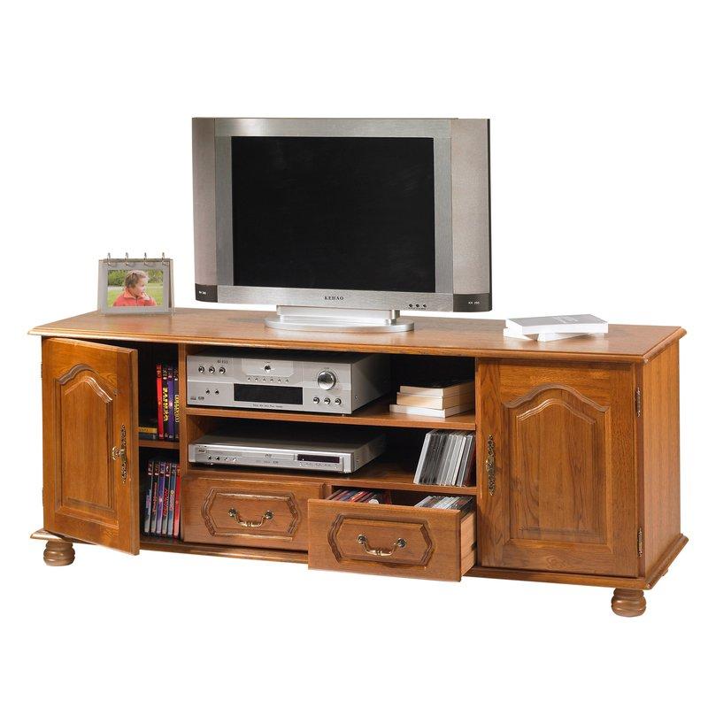 Meuble tv 2 portes 2 tiroirs maison et styles for Meuble tv quimper