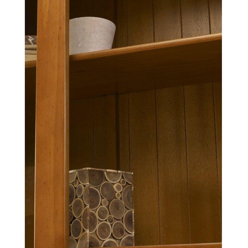 biblioth que pin miel de style anglais maison et styles. Black Bedroom Furniture Sets. Home Design Ideas