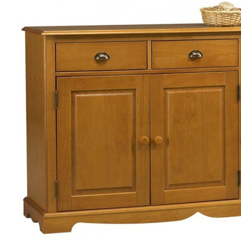 Buffet bas pin miel de style anglais maison et styles for Maison de style anglais