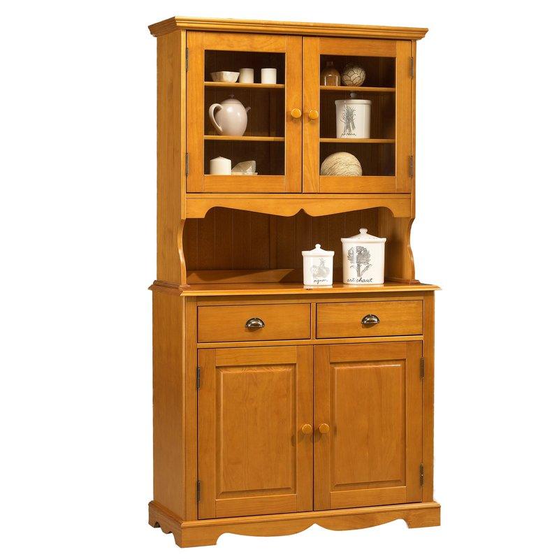 buffet vaisselier pin miel de style anglais maison et styles. Black Bedroom Furniture Sets. Home Design Ideas