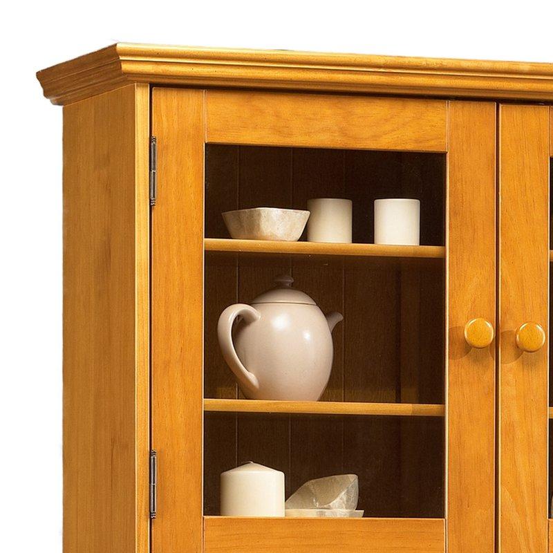 simple buffet vaisselier pin miel de style anglais with buffet vaisselier en pin. Black Bedroom Furniture Sets. Home Design Ideas