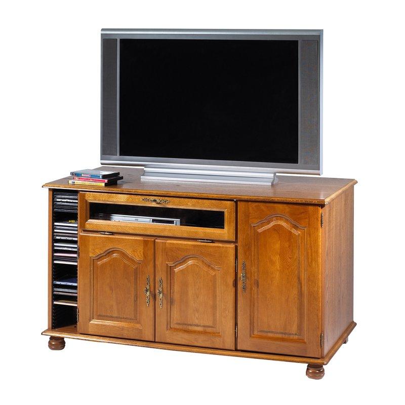 Meuble tv ch ne grand ecran maison et styles for Meuble tv 55 pouce