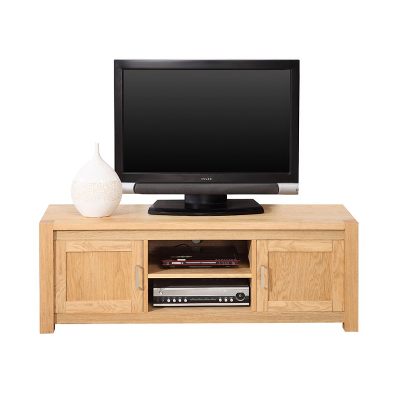 meuble banc tv hifi ch ne clair maison et styles. Black Bedroom Furniture Sets. Home Design Ideas
