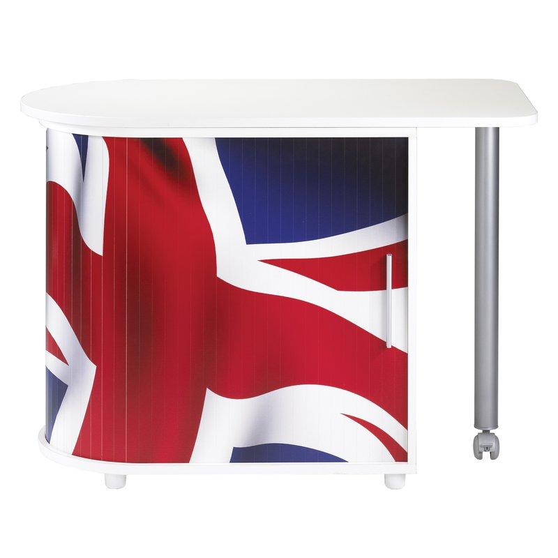 meuble informatique london blanc maison et styles. Black Bedroom Furniture Sets. Home Design Ideas