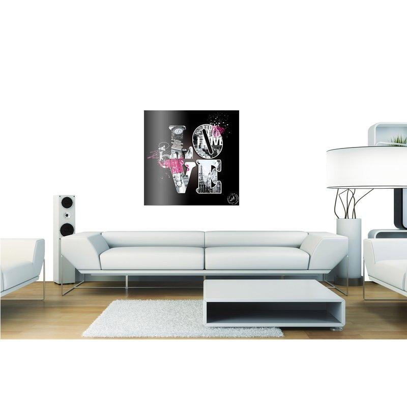 Cadre en plexi 50x50 love paris maison et styles - Cadre photo 50x50 ...