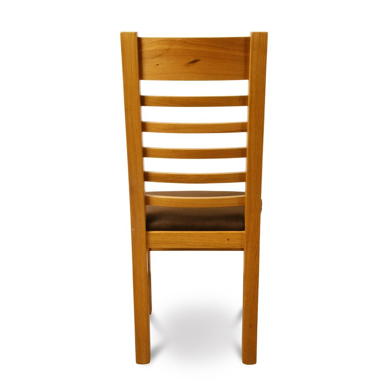 chaise finition ch ne clair maison et styles. Black Bedroom Furniture Sets. Home Design Ideas