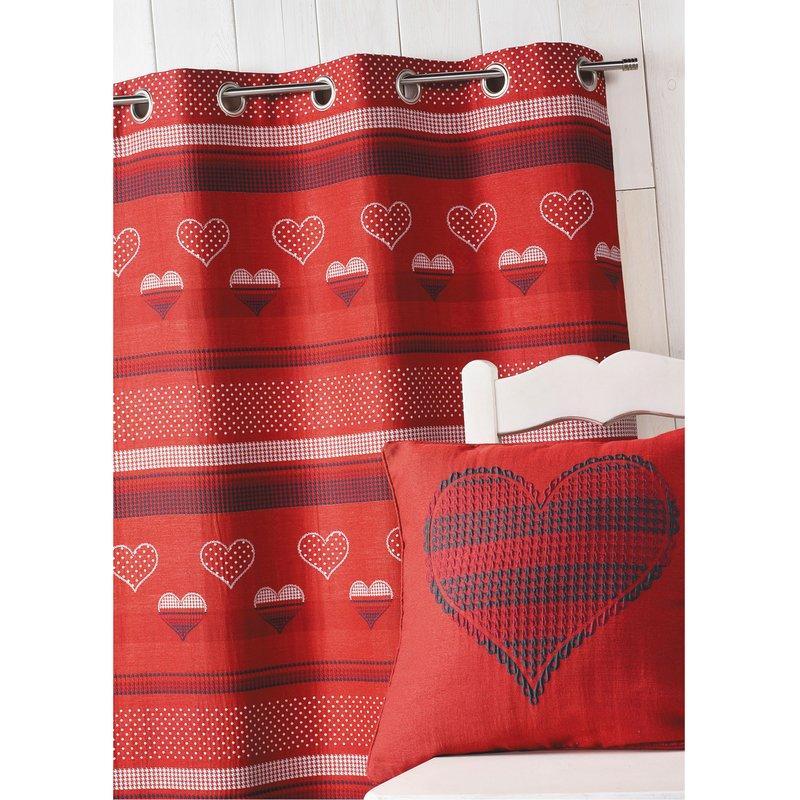 panneau 140x260cm jacquard 100 polyester bordeaux maison et styles. Black Bedroom Furniture Sets. Home Design Ideas