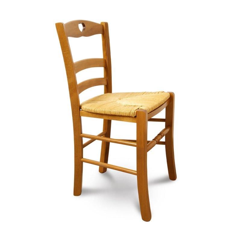 chaise en h tre teint ch ne dor maison et styles. Black Bedroom Furniture Sets. Home Design Ideas