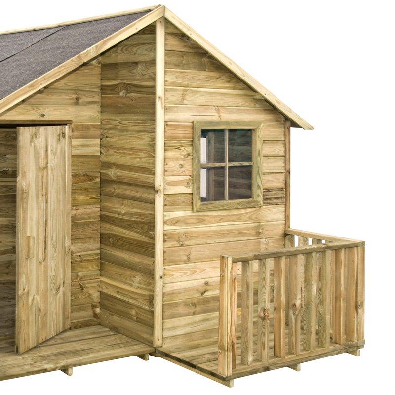 Maisonnette en bois loulou meilleures id es pour des for Idee cabane en bois