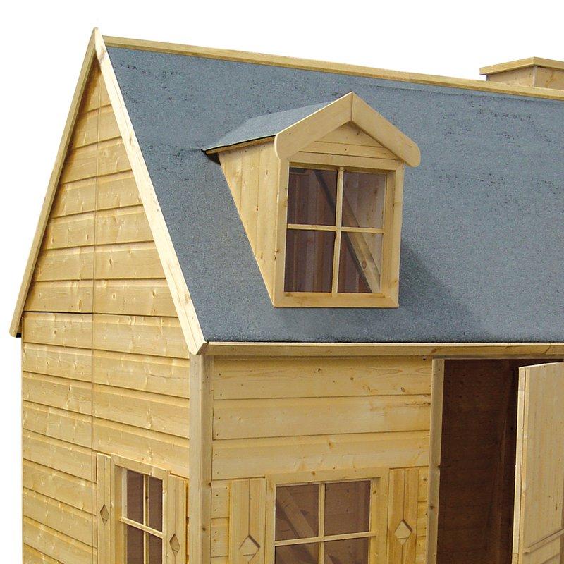 maison de jardin en bois rosalie 248x160x240cm maison et styles. Black Bedroom Furniture Sets. Home Design Ideas