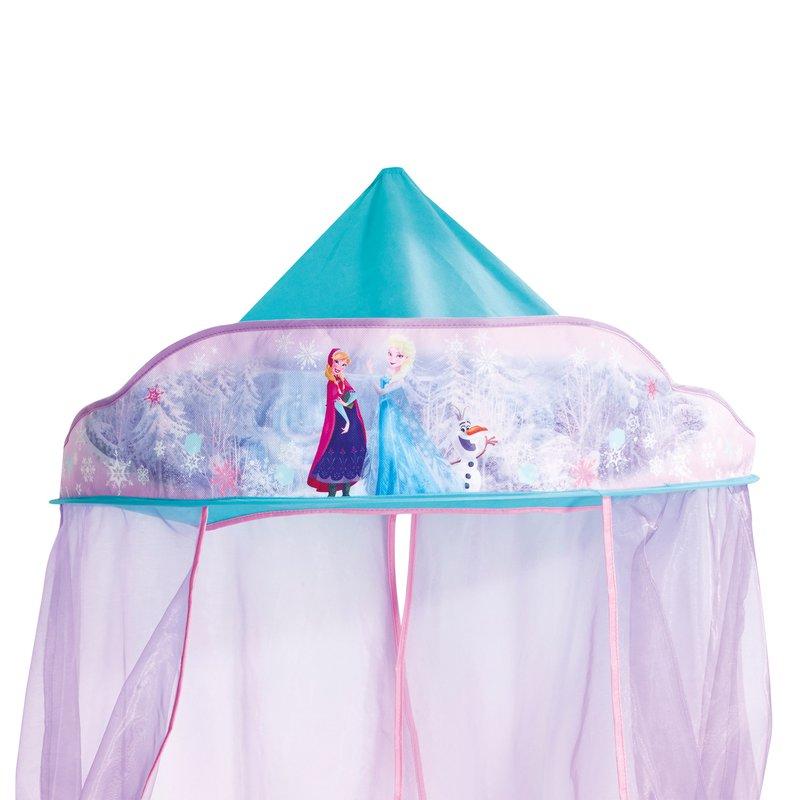 ciel de lit reine des neiges coloris violet maison et styles. Black Bedroom Furniture Sets. Home Design Ideas