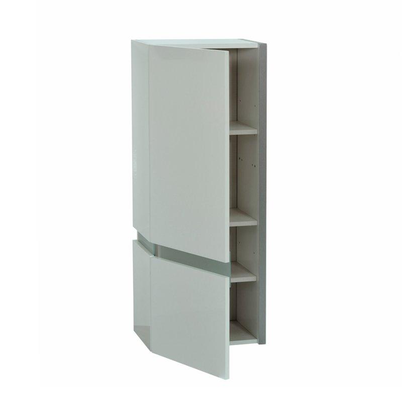 etag re suspendue avec leds porte bois 43x30x110 coloris. Black Bedroom Furniture Sets. Home Design Ideas