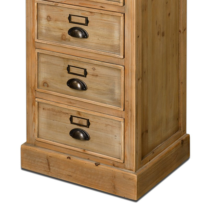chiffonnier 5 tiroirs en bois maison et styles. Black Bedroom Furniture Sets. Home Design Ideas