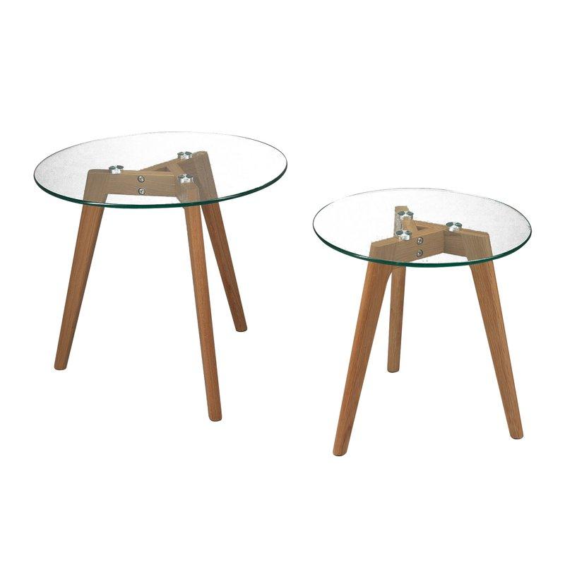 table tulipe plateau bois affordable table de tulipe. Black Bedroom Furniture Sets. Home Design Ideas