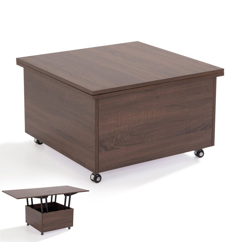 Table basse wenge conceptions de maison for Table basse relevable wenge