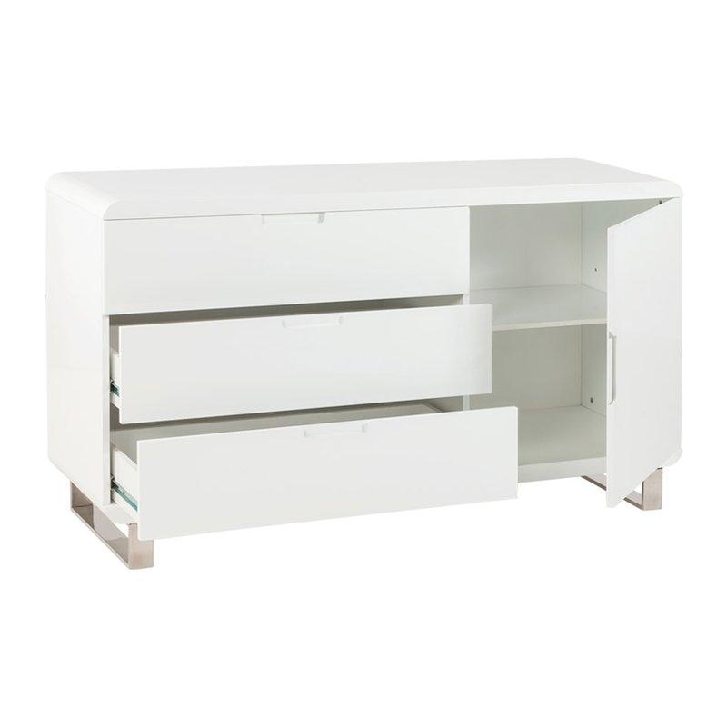 Mobilier bureau 45x135x79cm tapico maison et styles for Mobilier bureau maison