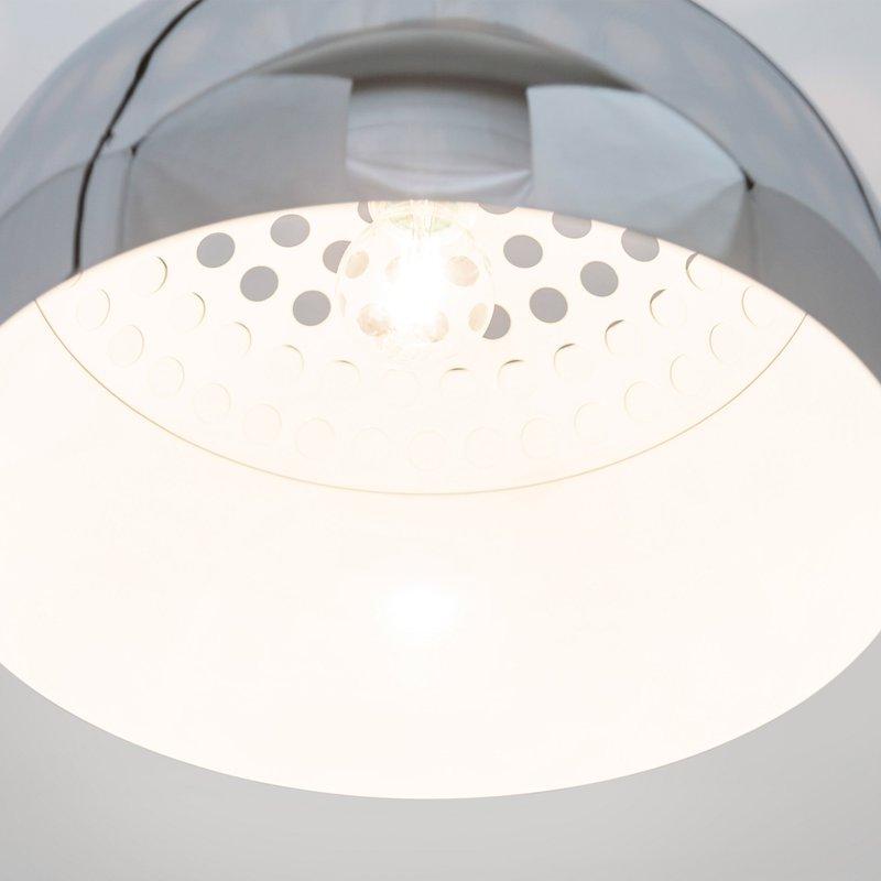 lampe de sol design 38x171x187cm oft x chrome maison et styles. Black Bedroom Furniture Sets. Home Design Ideas