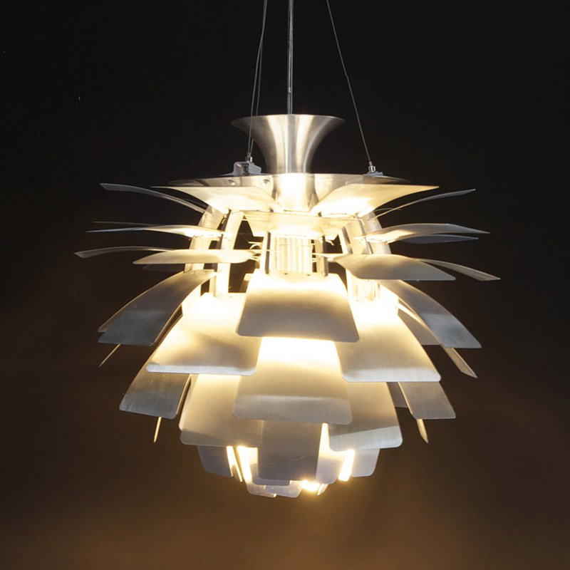 Lampe suspendue design 50x50x45cm trak maison et styles for Modele luminaire suspension