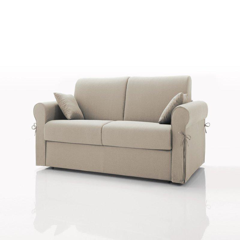 canap convertible 2 places tissu d houssable cru. Black Bedroom Furniture Sets. Home Design Ideas