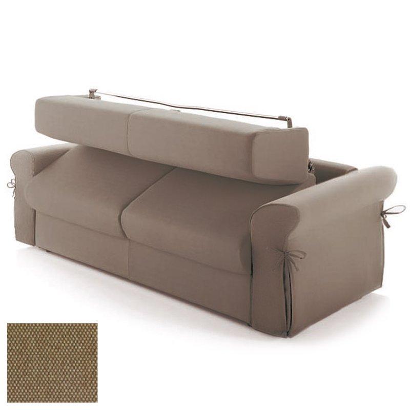 canap convertible 2 places maxi tissu d houssable beige maison et styles. Black Bedroom Furniture Sets. Home Design Ideas