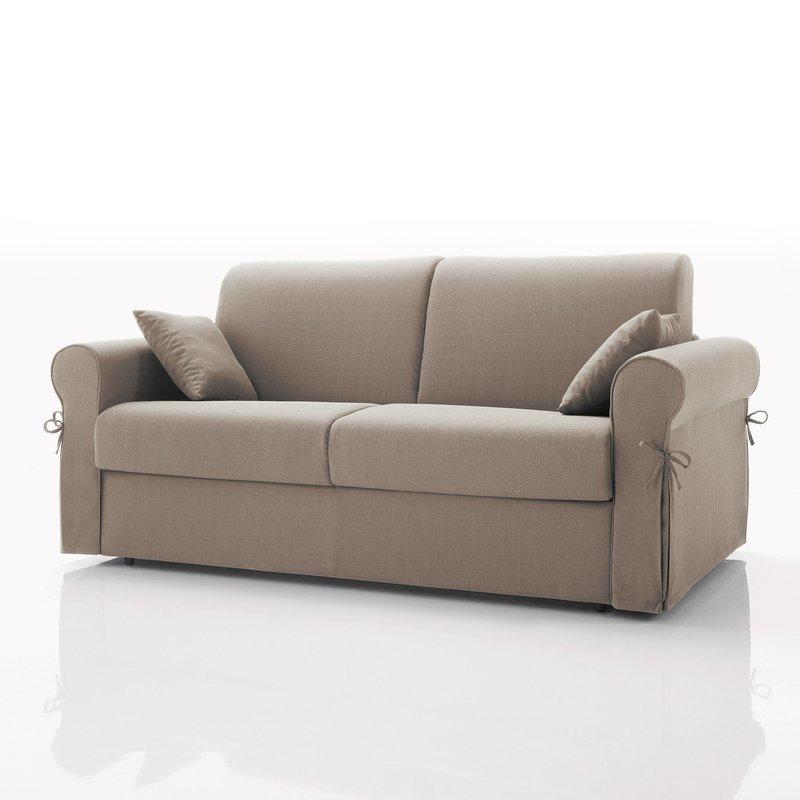 canap convertible 3 places tissu d houssable beige. Black Bedroom Furniture Sets. Home Design Ideas