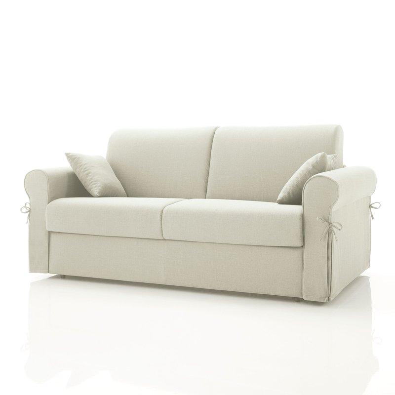 canap convertible 3 places tissu d houssable ivoire maison et styles. Black Bedroom Furniture Sets. Home Design Ideas