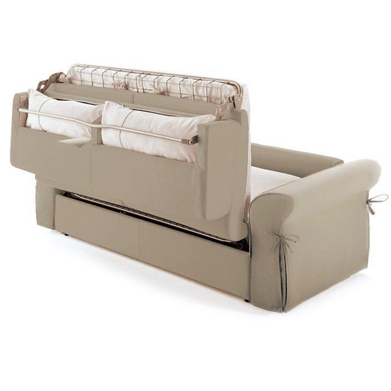 Canap convertible 3 places tissu d houssable cru maison et styles for Canape tissu dehoussable
