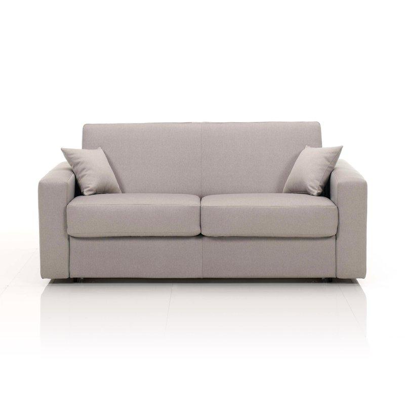 canap convertible 2 places maxi tissu d houssable caf maison et styles. Black Bedroom Furniture Sets. Home Design Ideas