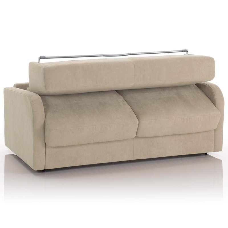 canap convertible 2 places maxi tissu d houssable cru maison et styles. Black Bedroom Furniture Sets. Home Design Ideas