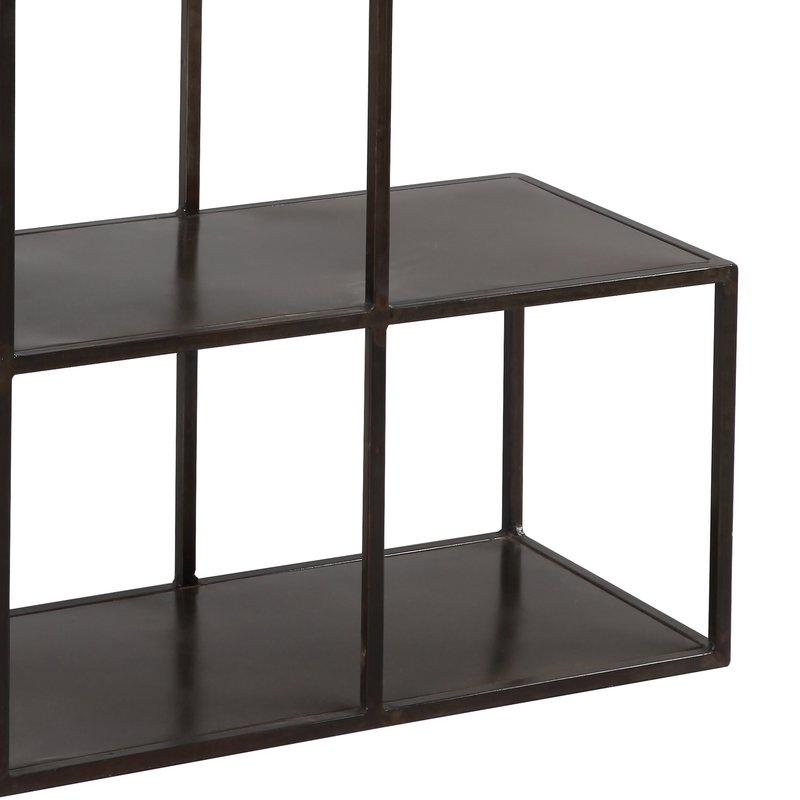 etag re escalier en acier coloris noir atelier metal maison et styles. Black Bedroom Furniture Sets. Home Design Ideas