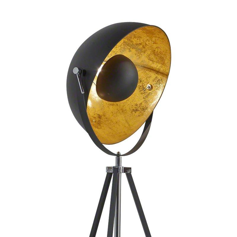 lampadaire projecteur noir maison et styles. Black Bedroom Furniture Sets. Home Design Ideas
