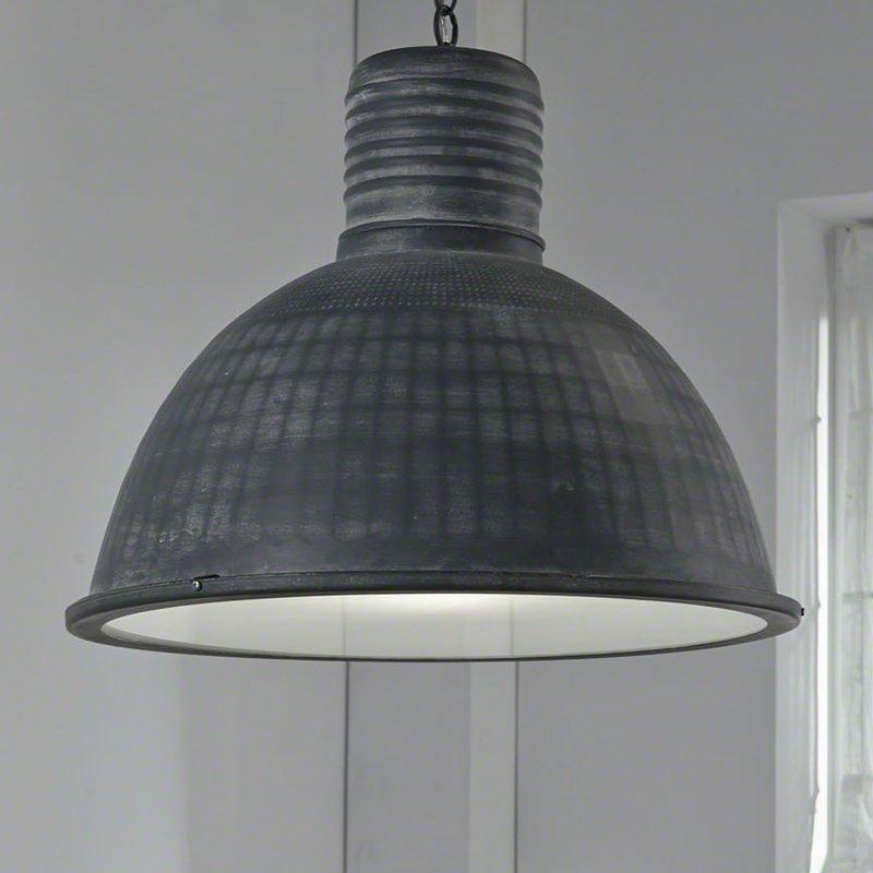 suspension industriel grise maison et styles. Black Bedroom Furniture Sets. Home Design Ideas