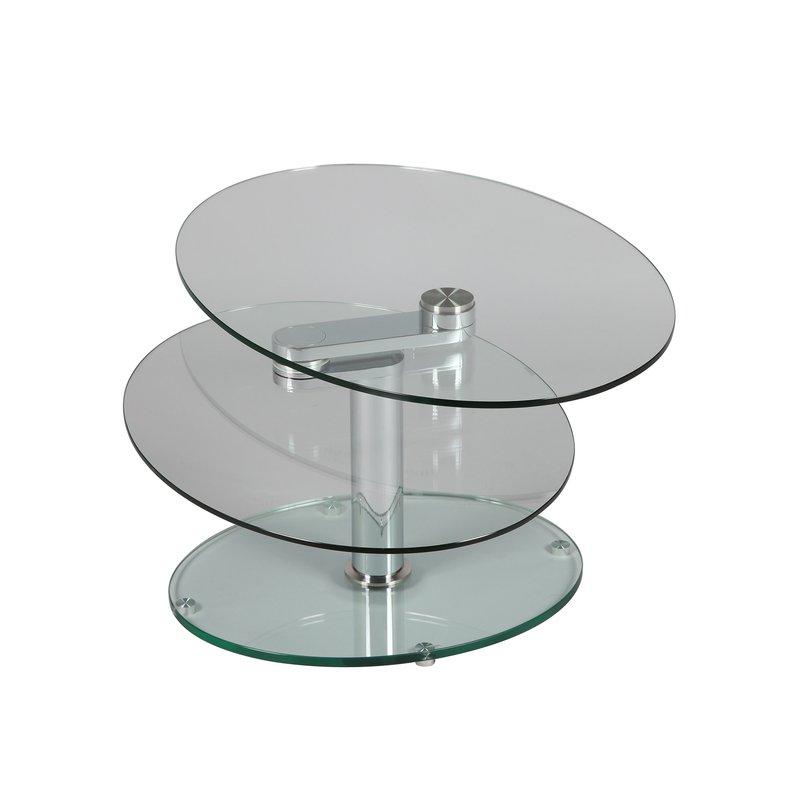 Table basse en verre 2 plateaux table basse 2 plateaux for Petite table basse en verre