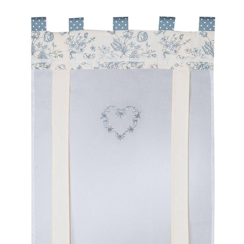 Lot de 2 rideaux eurouleur 60x160 avignon maison et styles for Linge de maison avignon