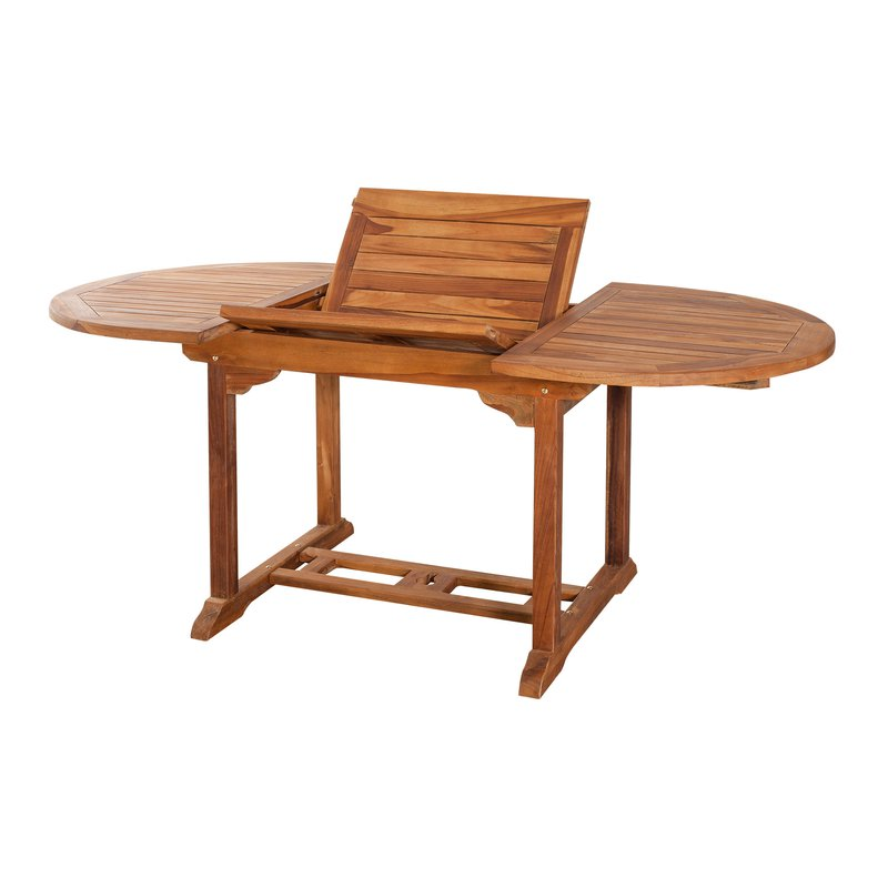 table ovale extensible 120 180x90 maison et styles. Black Bedroom Furniture Sets. Home Design Ideas